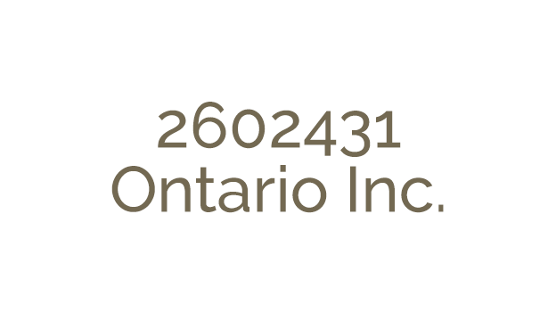 2602431 Ontario Inc. has acquired Vehicle Armour Inc., Premium Services Group Inc., and Integrated Warranty Systems Inc.