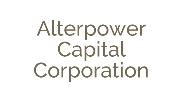 Alterpower Capital Corporation has been sold in a 'going private' transaction to Rockwater Capital Corporation (TSE:RCC)
